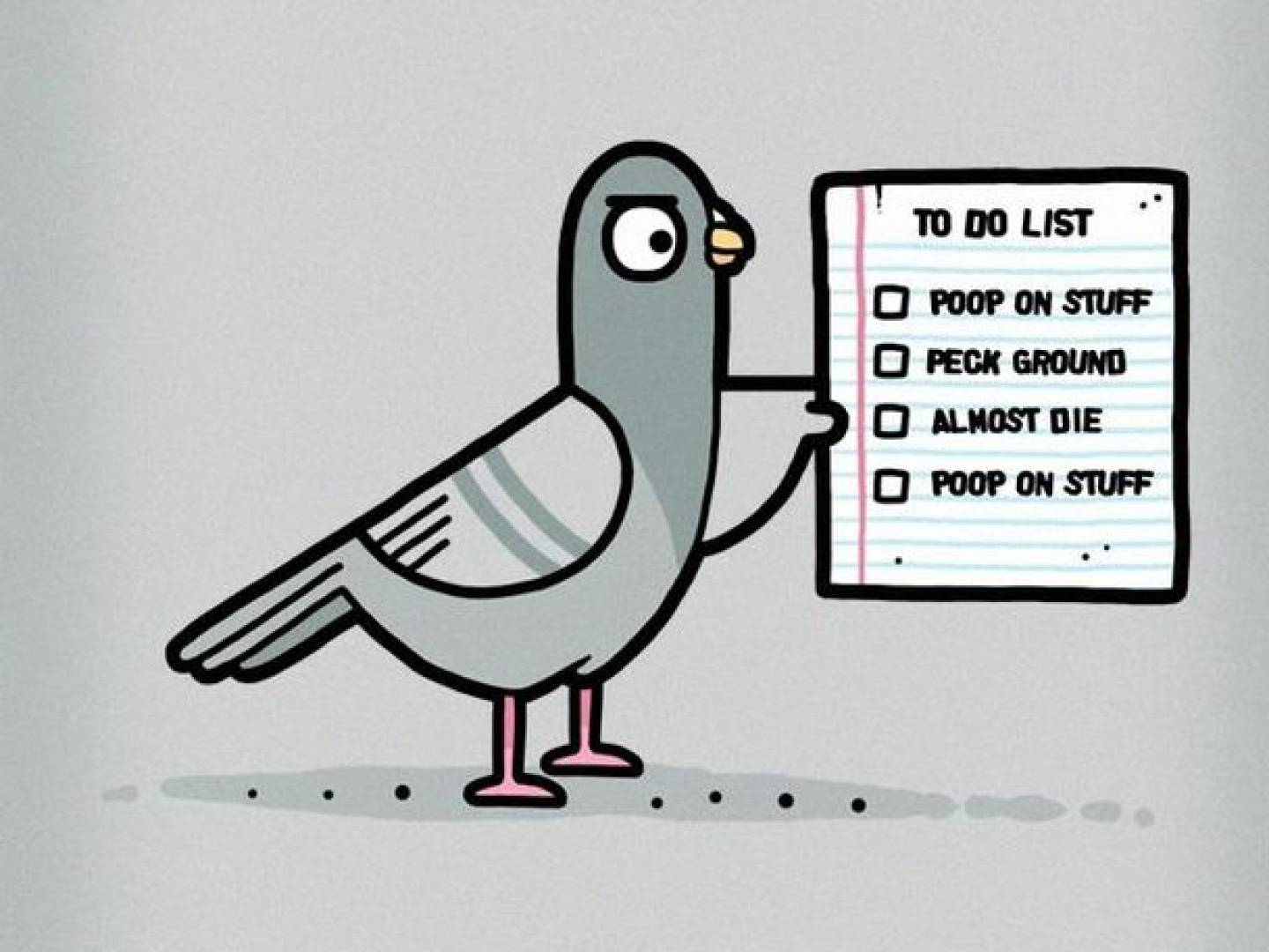 pigeon-to-do-list